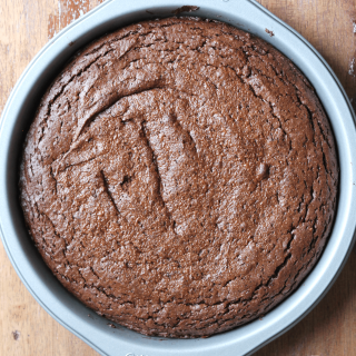 Chocolate Almond Butter Brownies | THM: S
