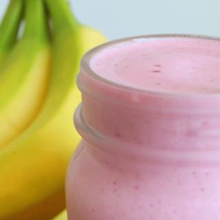 Berry Banana Baobab Smoothie | THM: E