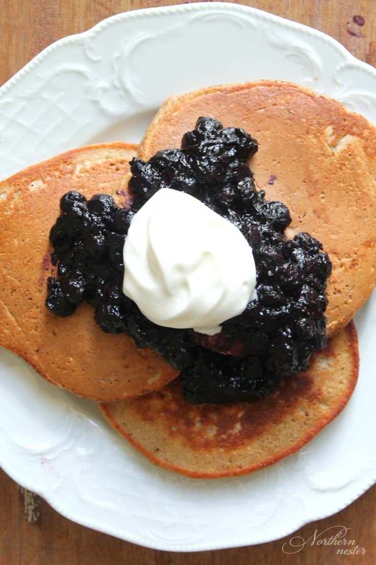 Cinnamon Protein Pancakes | THM: E