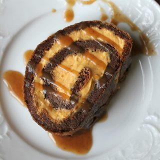 Gingerbread Pumpkin Roll | THM: S