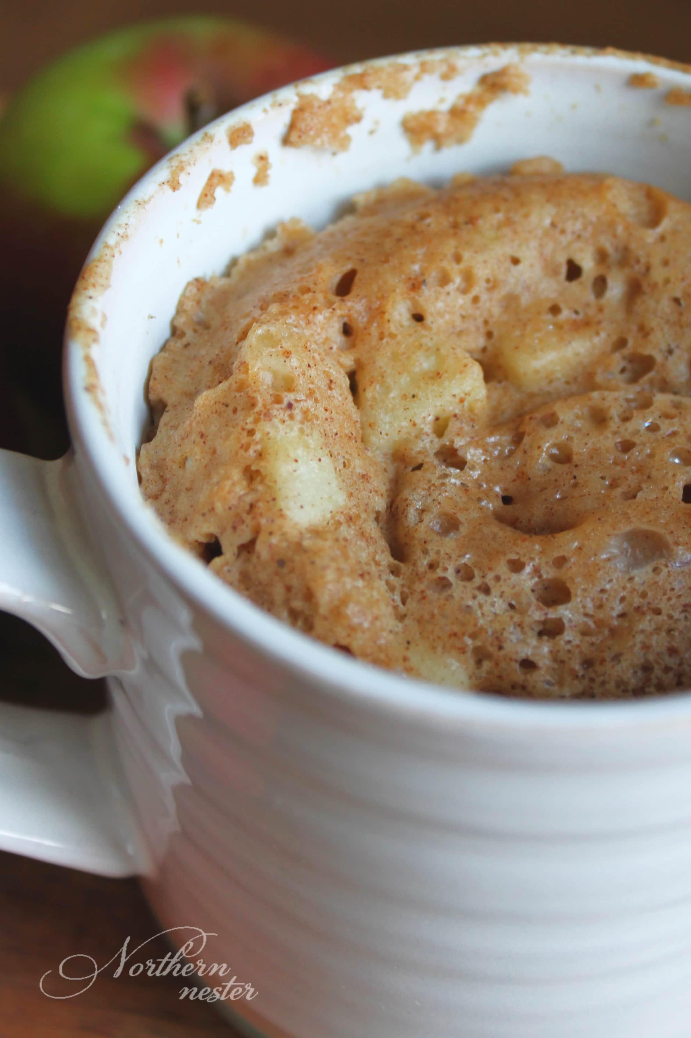 Apple Cake In A Mug Thm E Northern Nester