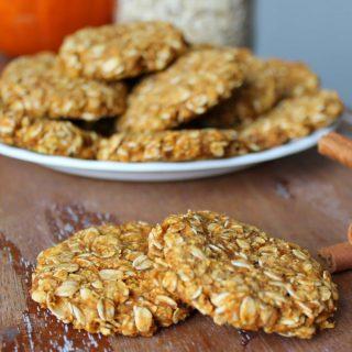 Pumpkin Oatmeal Cookies | THM: E