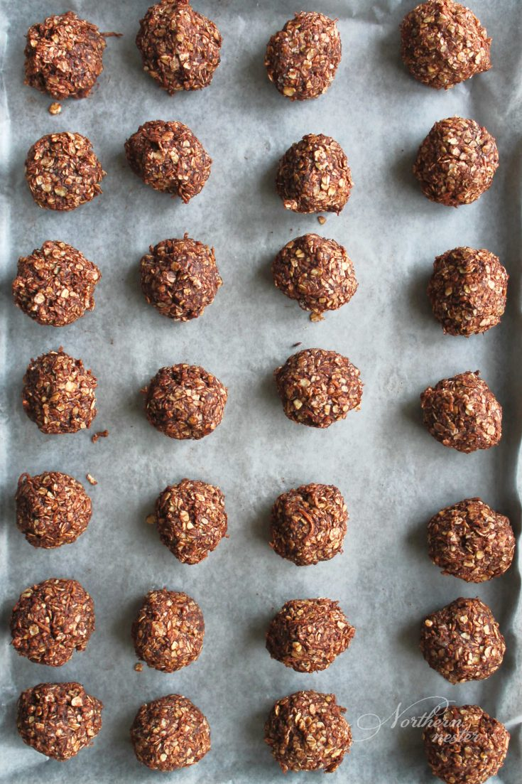 No-Bake Chocolate Macaroons | THM: S or XO