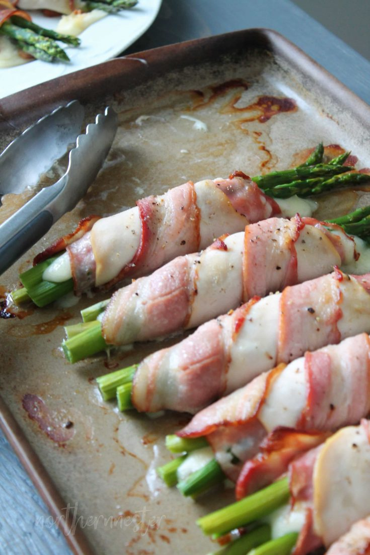 Chicken & Bacon Asparagus Bundles | THM: S, Keto, GF