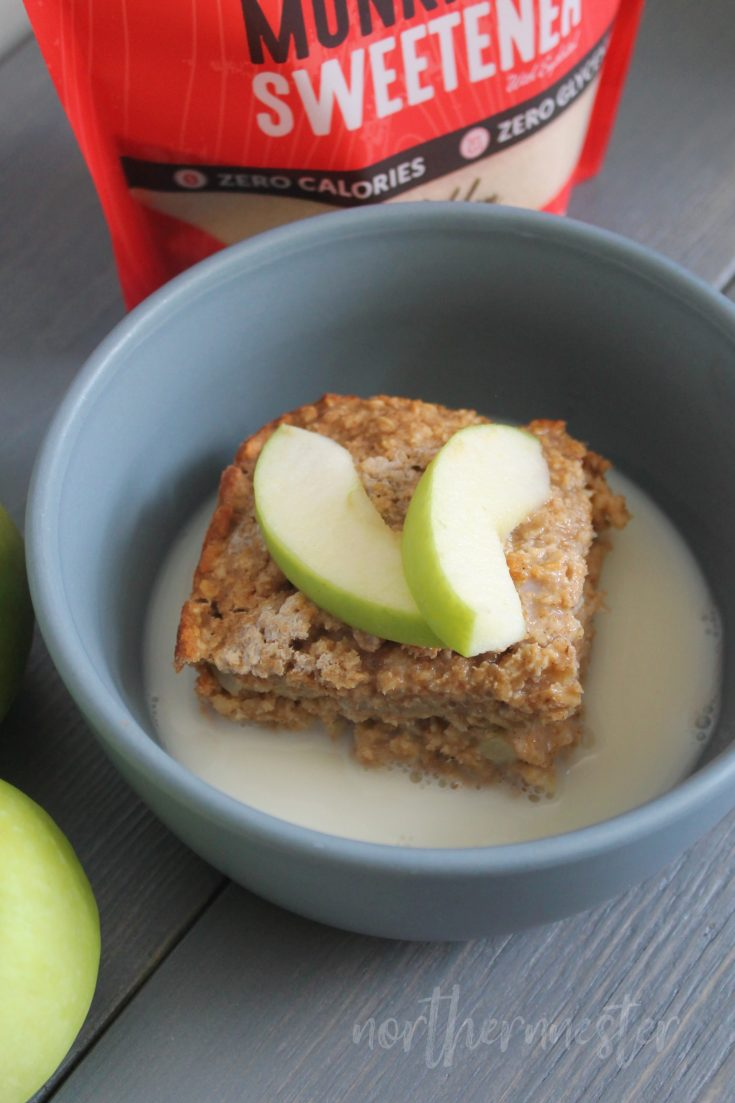 Mrs. Pamela's Apple Cinnamon Baked Oatmeal | THM: E, GF, DF