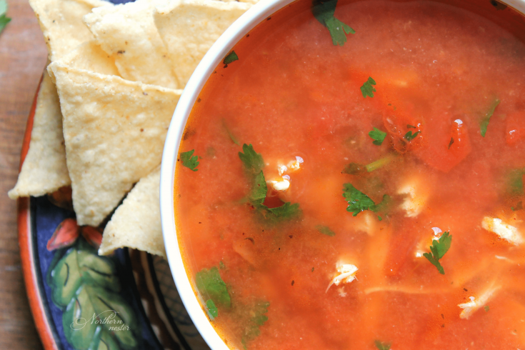 5-Minute Tex-Mex Chicken Soup
