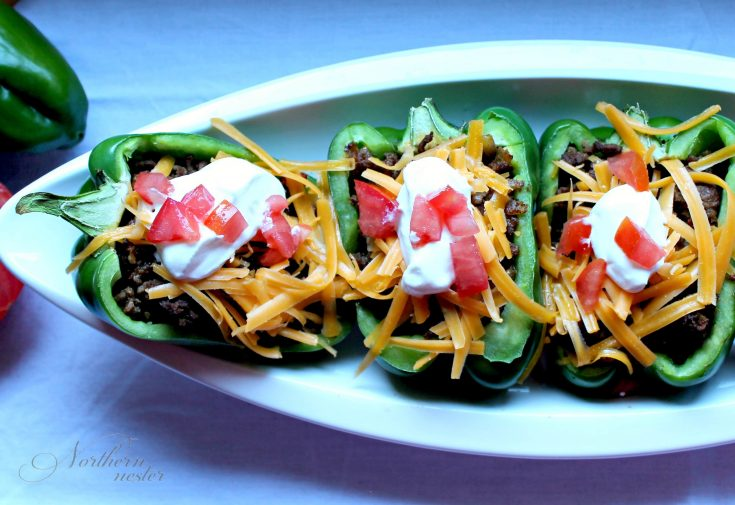 Southwestern Stuffed Peppers | THM S