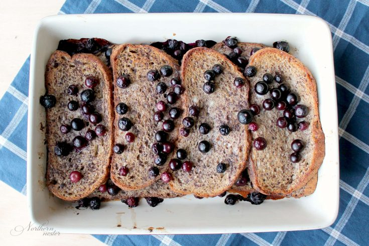 Blueberry French Toast | THM: E