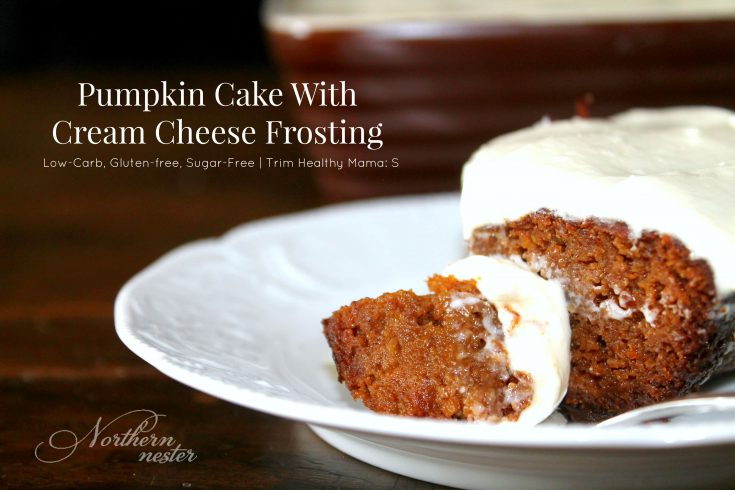 Pumpkin Cake With Cream Cheese Frosting | THM : S