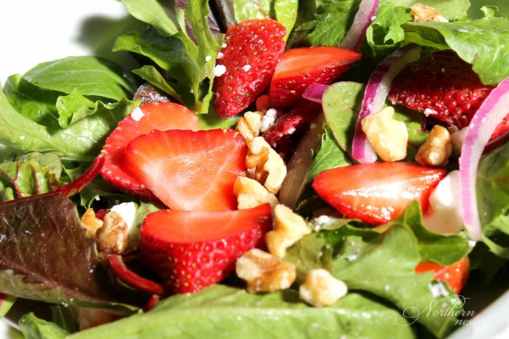 Strawberry Spinach Salad | THM, GF