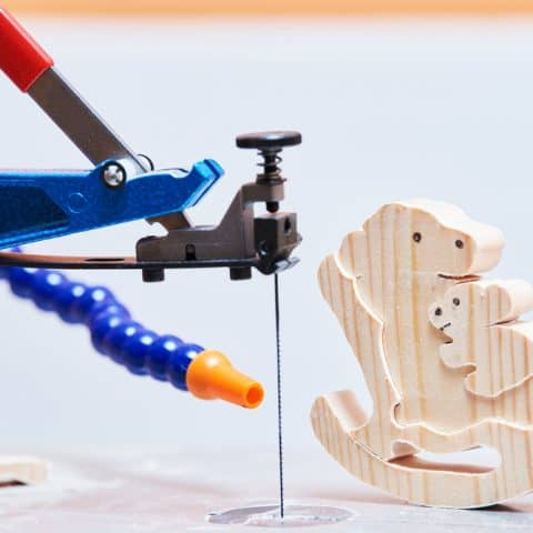 can you use a scroll saw indoors