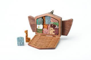 NOAH'S ARK PUZZLE PATTERNS
