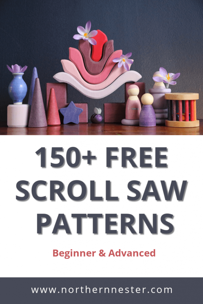 free scroll saw patterns for beginners
