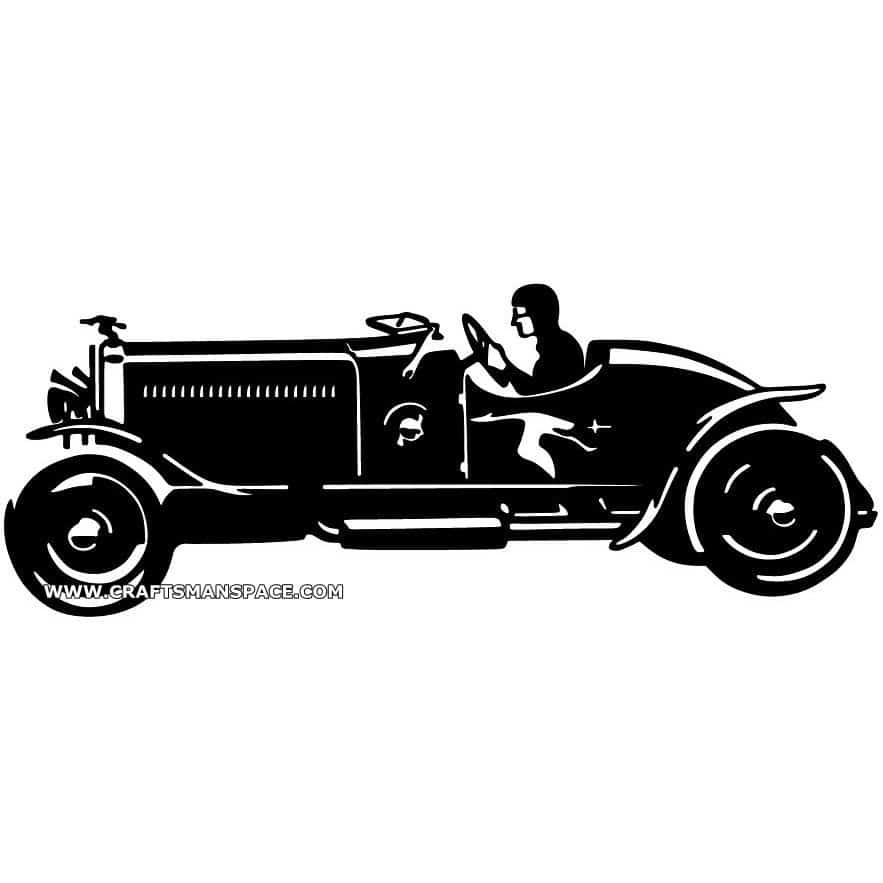 OLD CAR SCROLL SAW PATTERNS