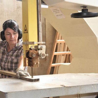 how to prevent bandsaw from burning wood