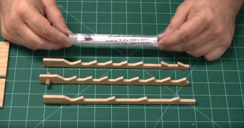 scroll saw blades installation
