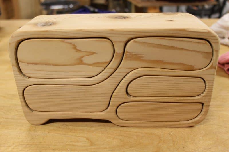 DIY bandsaw box