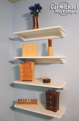 Easy Wall Shelves