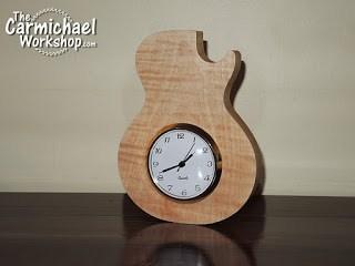 Guitar Clock or Guitar Pick Holder