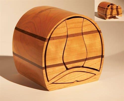 Push-Button Bandsaw Box