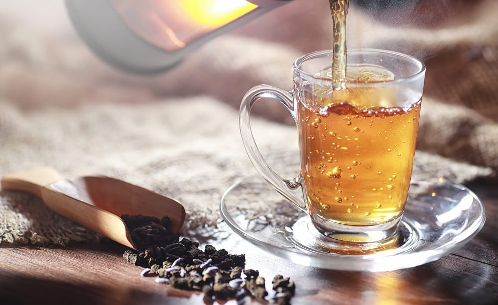 benefits of brewed tea