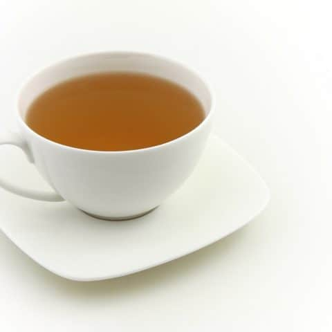 how much caffeine is there in white tea