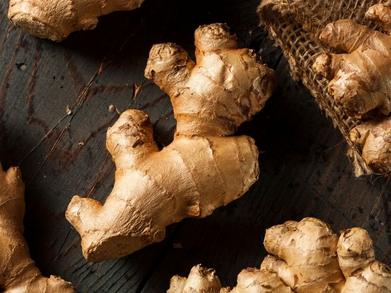 how to store whole ginger