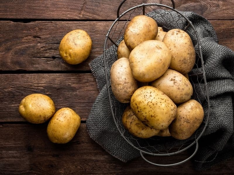 popular types of potatoes