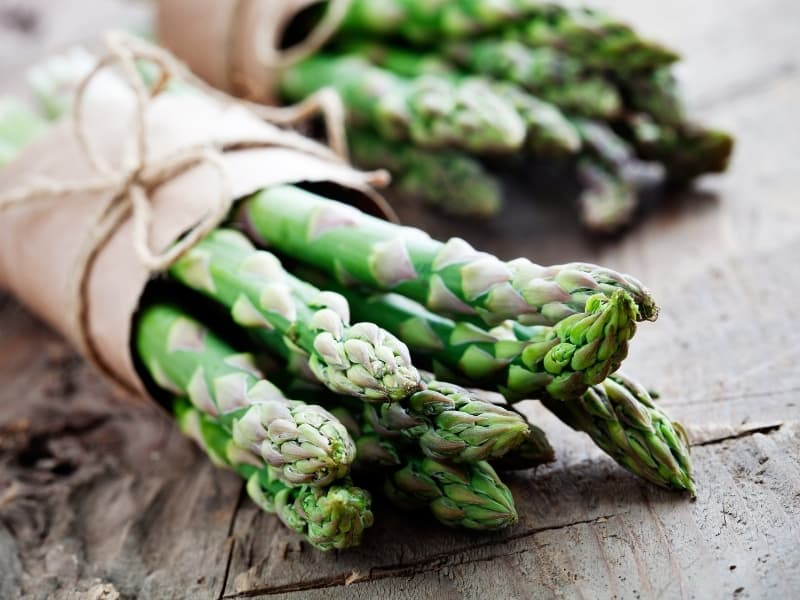 best way to store asparagus
