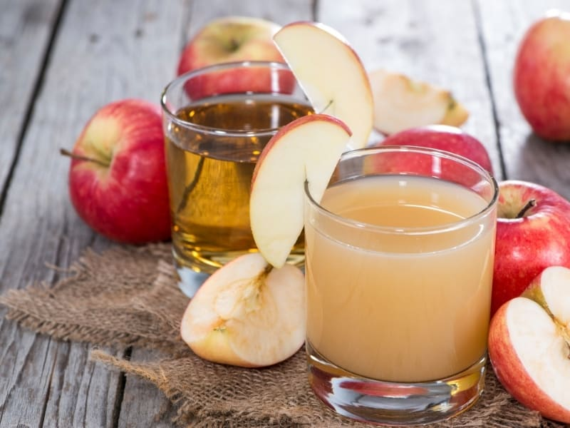 difference between apple cider vs apple juice