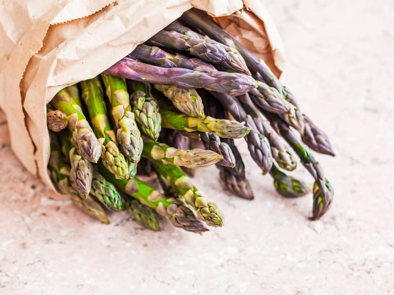 ways to store asparagus