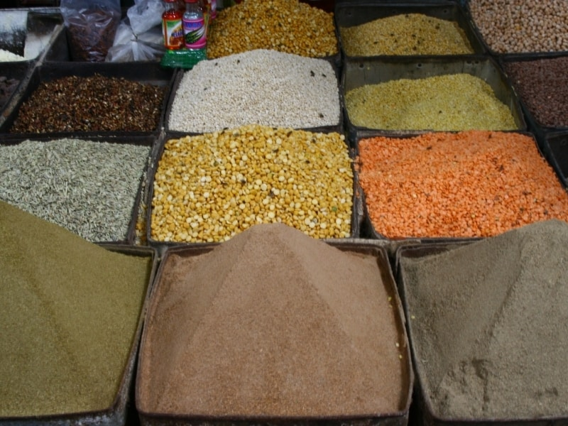 different types of curry
