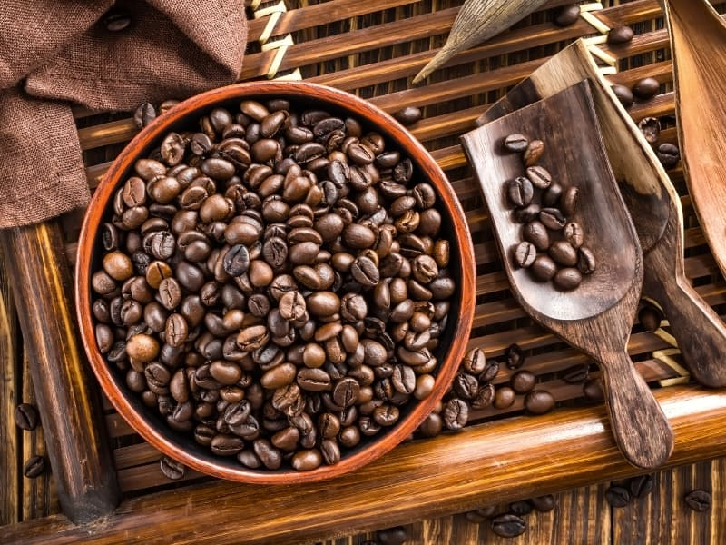 different ways to store coffee beans