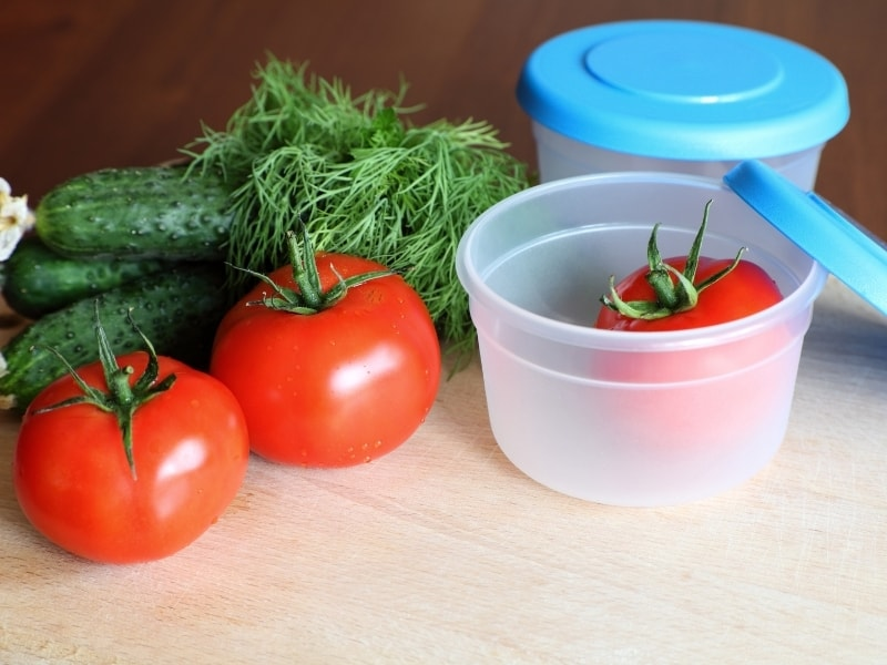 different ways to store tomatoes