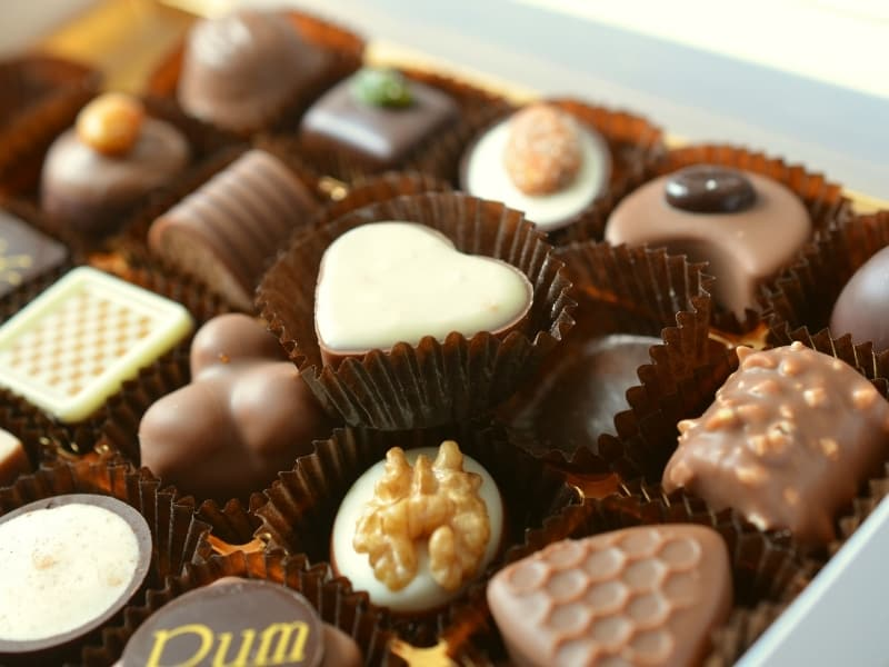 other types of chocolates