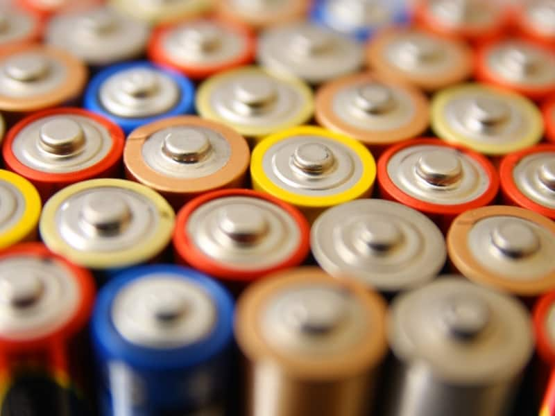 steps on how to store batteries