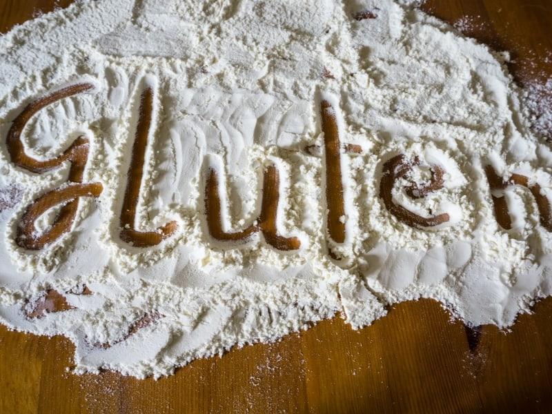 gluten containing flour