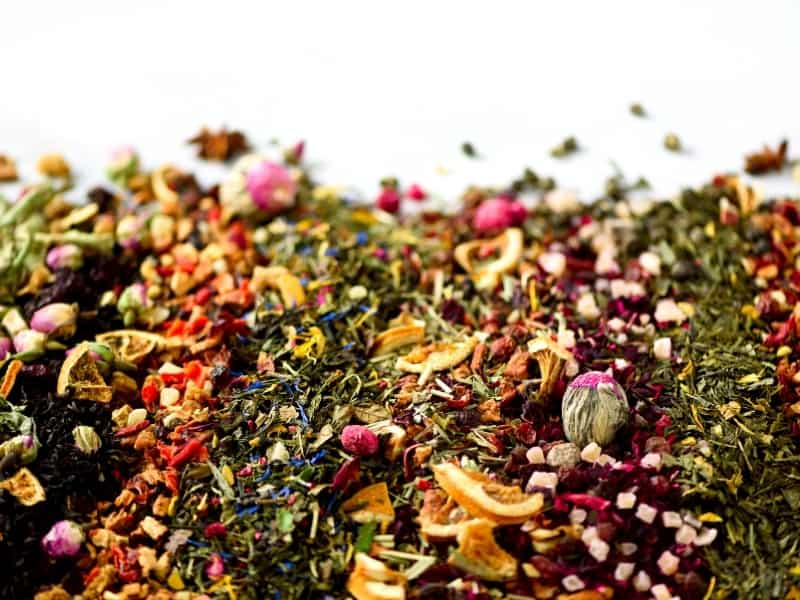 how many types of green teas are there