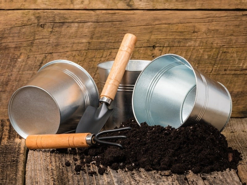 potting soil mixture