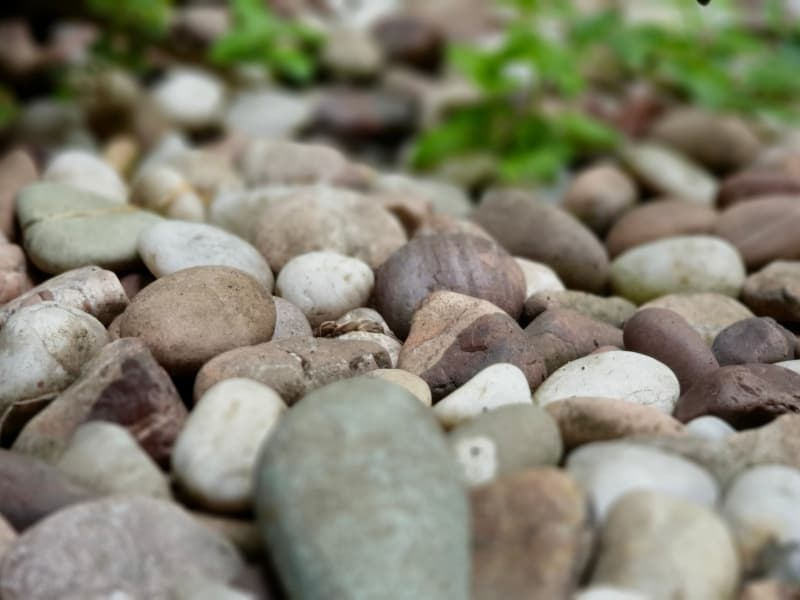 stones for weeds