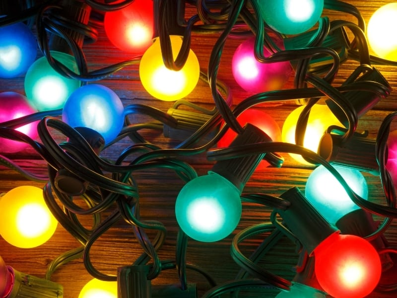 do christmas lights use a lot of electricity